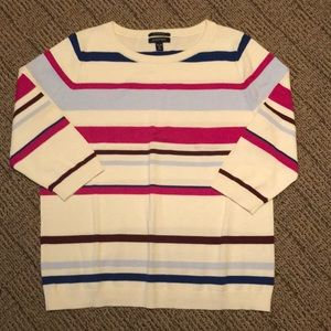 EUC Lands End 3/4 Sleeve Sweater Size XLP